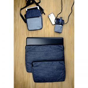 Men's gifts. Upcycled denim accessories for electronic devices
