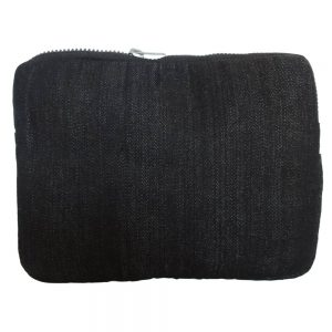 Men's tablet or iPad sleeve in recycled denim.