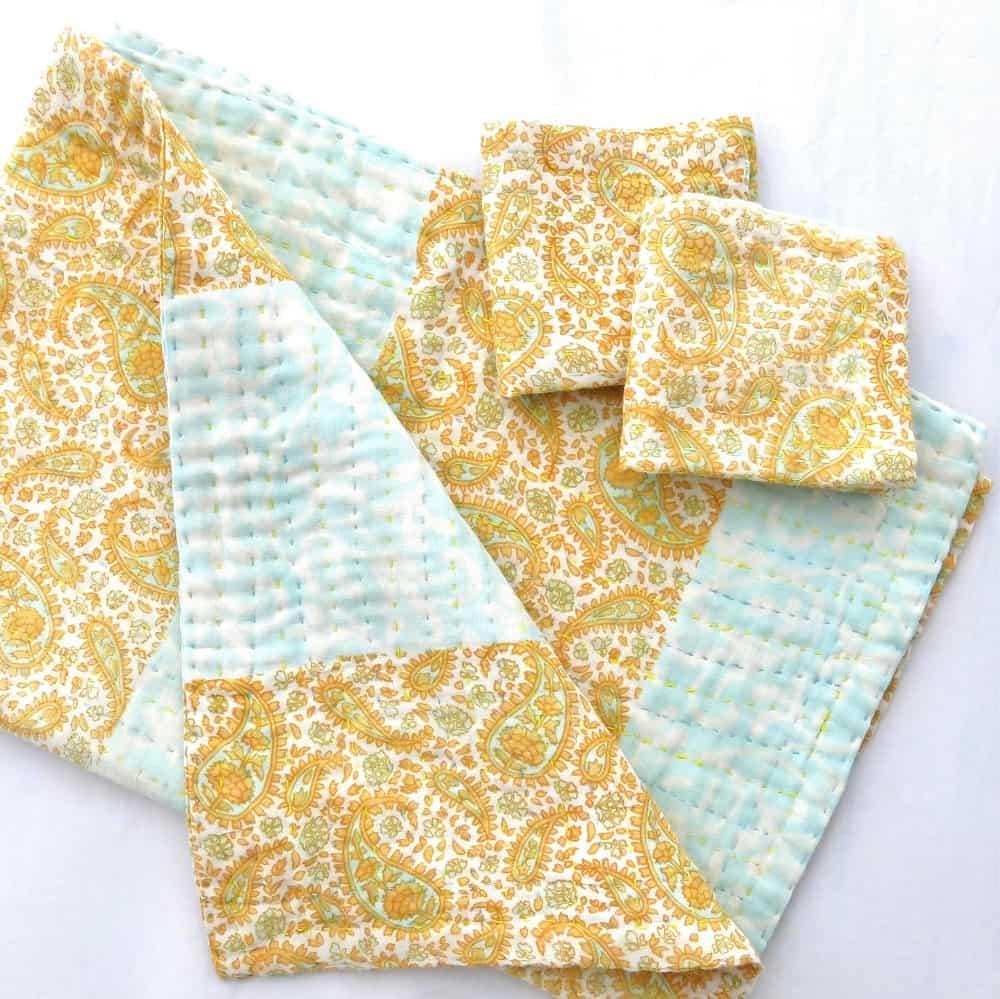 Wash Cloths As Burp Cloths: Burp-cloth-washcloths-set-recycled-sari-MTH1801h