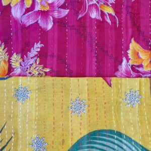 Comparing wide Dhaka stitch on top and narrower Josshor stitch below.