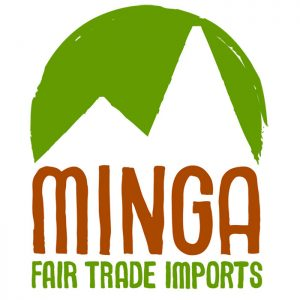 Minga Fair Trade logo.