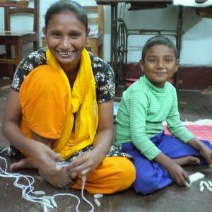 Nasma and Raju.