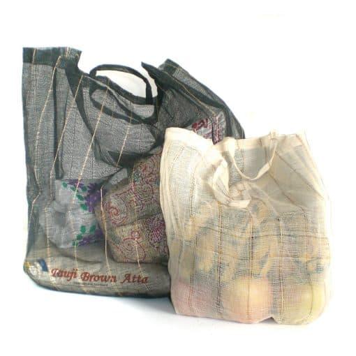 Custom eco-friendly natural shopping bags.