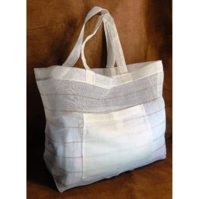 Custom eco-friendly large tote.