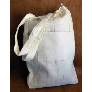 Custom eco-friendly, lined simple tote.