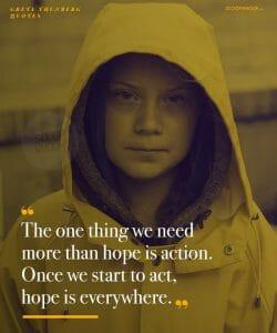 Greta Thunberg quote