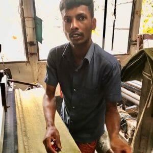 concerned hand weaver