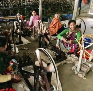 Pre-weaving preparation