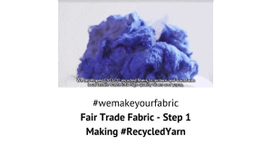 Fair Trade Fabric - Step 1