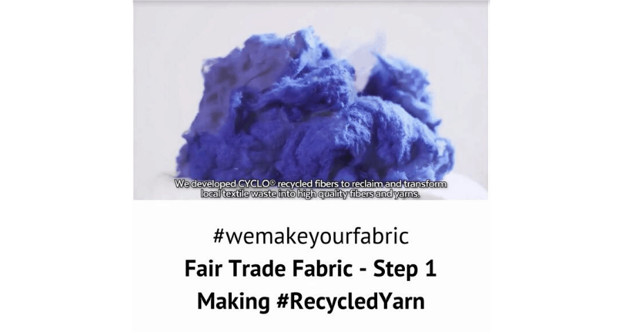 Fair Trade Fabric – Step 1