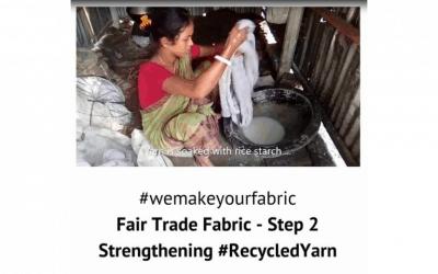 Fair Trade Fabric – Step 2