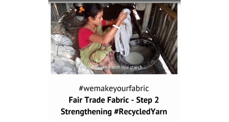 Fair Trade Fabric – Step 2