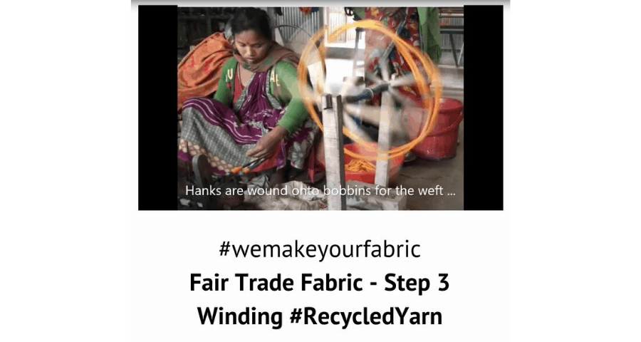 Fair Trade Fabric – Step 3