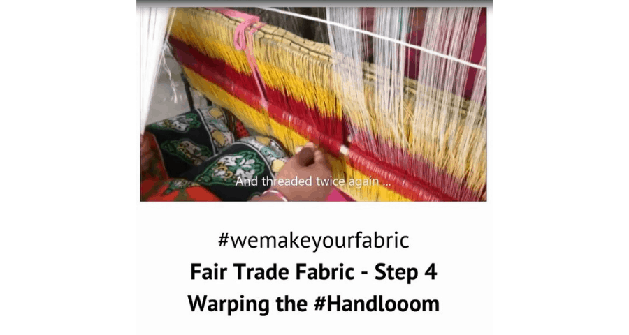 Fair Trade Fabric – Step 4