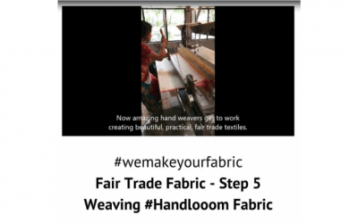 Fair Trade Fabric – Step 5