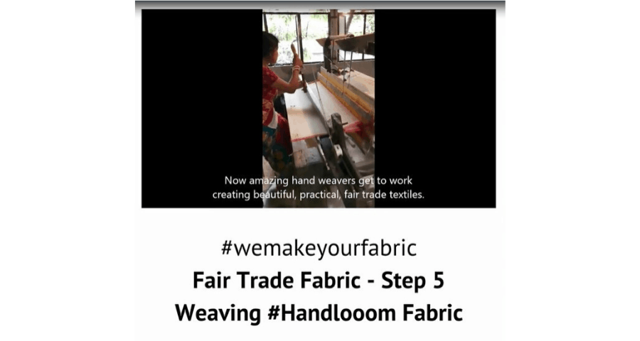 Fair Trade Fabric – Step 5