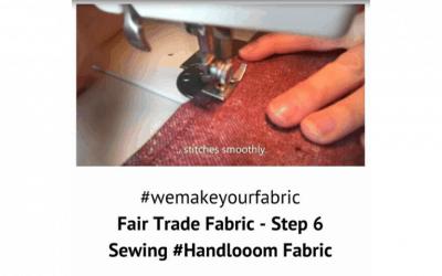 Fair Trade Fabric – Step 6