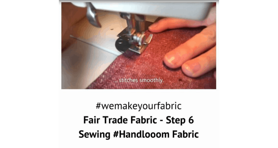 Fair Trade Fabric – Step 6