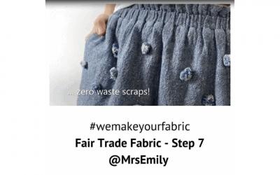 Fair Trade Fabric – Step 7