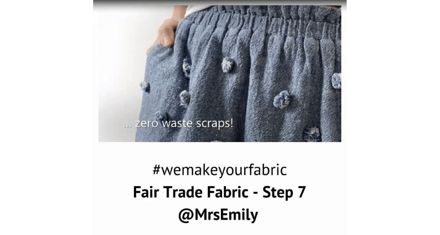 Fair Trade Fabric – Step 7