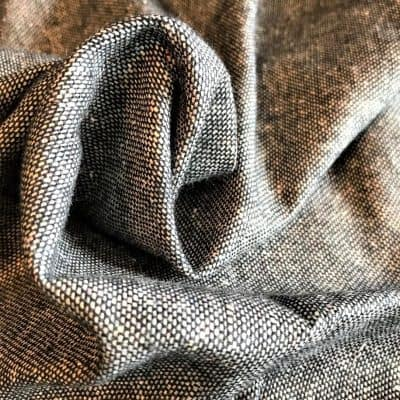 sustainable fabric recycled yarn charcoal