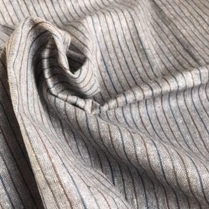 ethical handwoven fabric natural dye seed grey