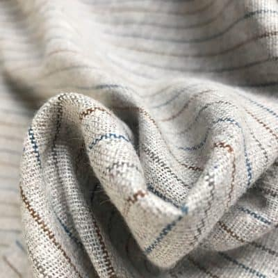 recycled handwoven fabric natural dye vegan