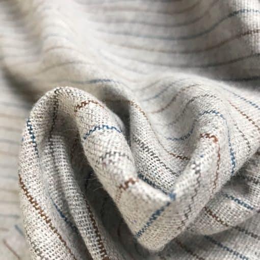 recycled handwoven fabric natural dye vegan