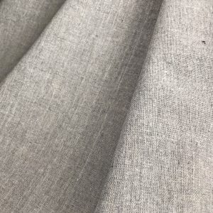 recycled handwoven zero waste fabric grey