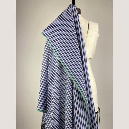 fair trade handwoven cotton black stripe