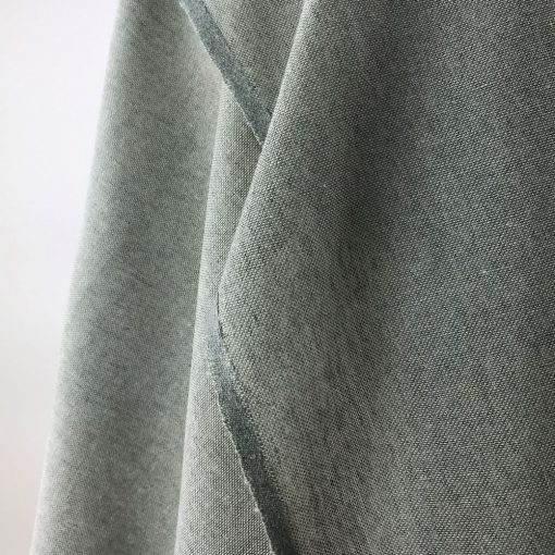 ethical textiles recycled yarn stone grey plain