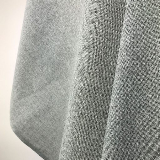 handwoven textiles recycled yarn storm grey