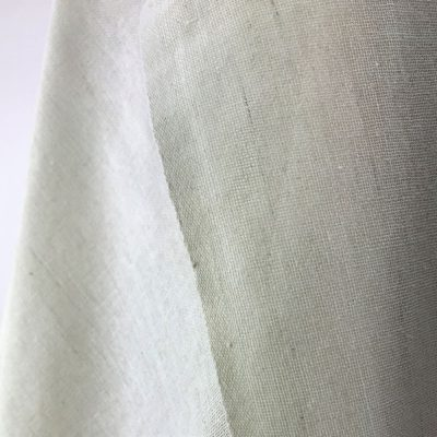 sustainable fabric recycled yarn off white